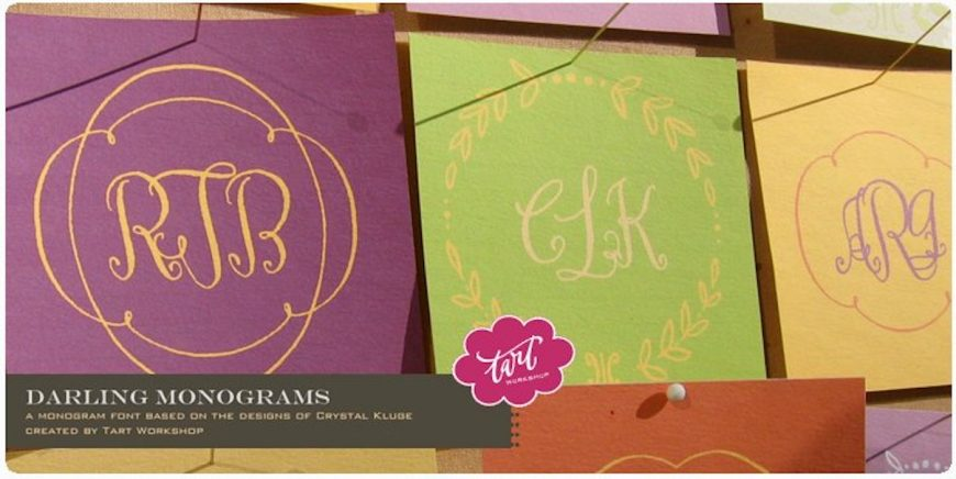Darling Monograms