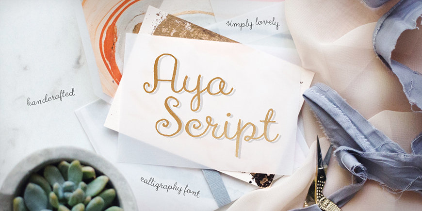 Aya Script Family