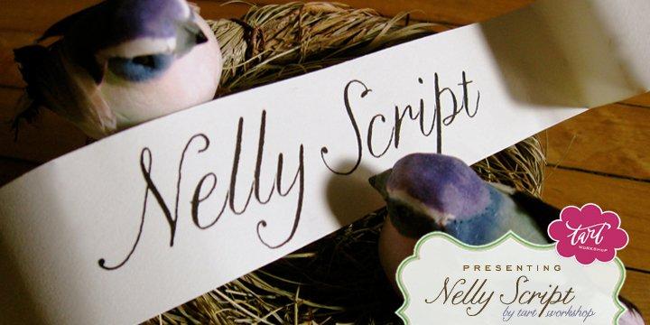 Nelly Script Family Complete