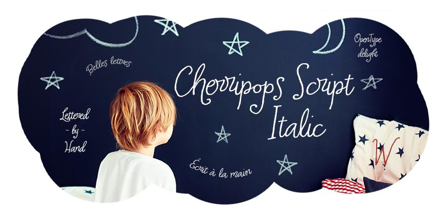 Cherripops Script Italic