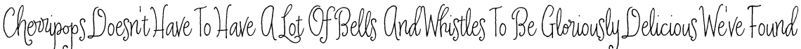 Cherripops Script Skinny