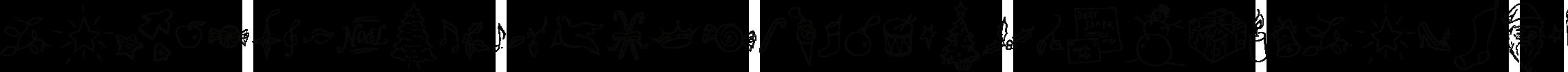 Carrotflower Christmas Icons