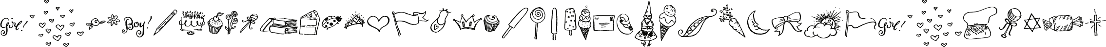Carrotflower Celebration Icons