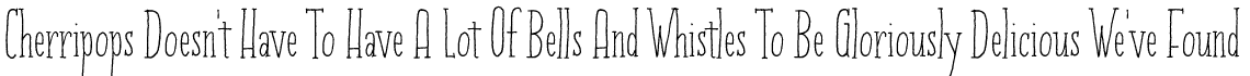 Cherripops Serif