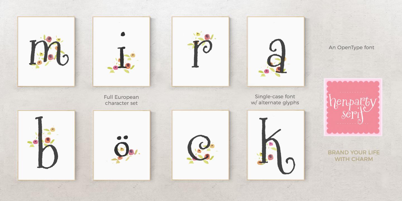henparty-serif-mira-poster3