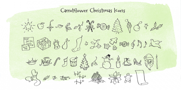 Carrotflower Stationery Kit