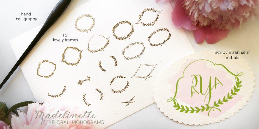 Madelinette Grande Monograms Floral