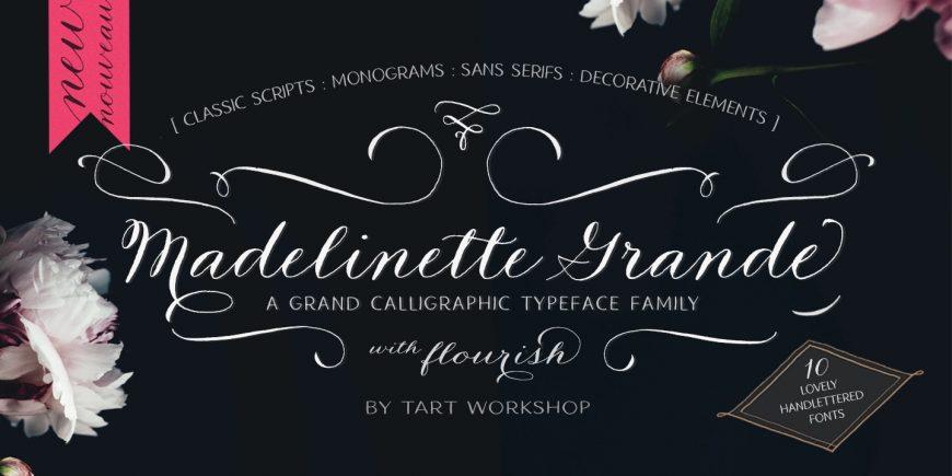 Madelinette Grande Flourishes 1