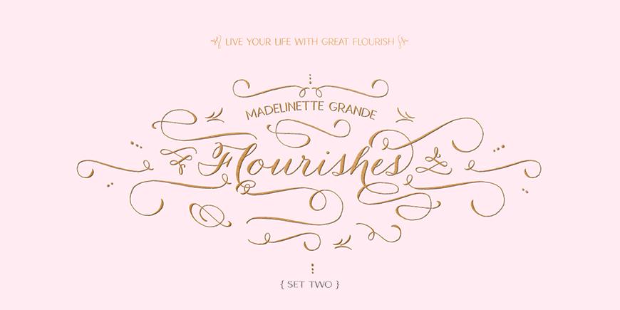 Madelinette Grande Flourishes 2