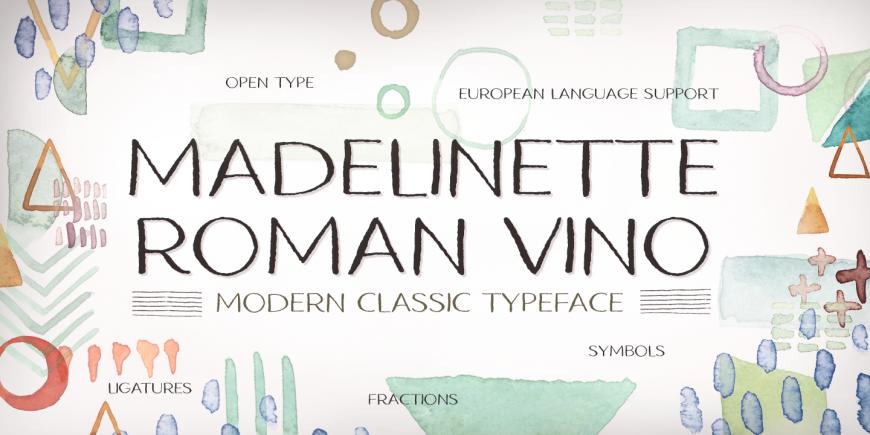 Madelinette Grande Roman Vino